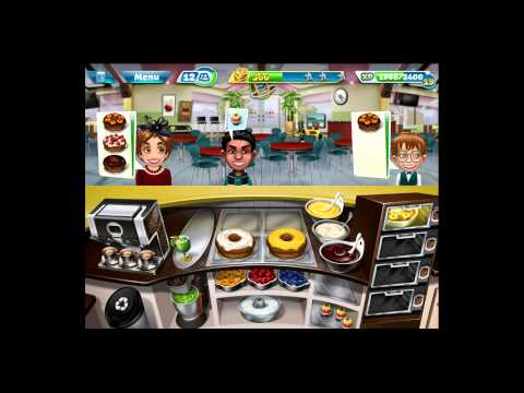 Cooking Fever [iPad Gameplay] Bakery Level 30