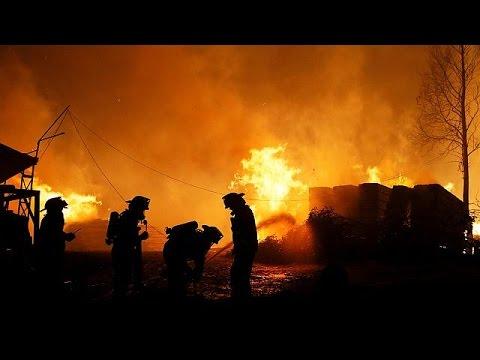 Χωρίς τέλος ο πύρινος εφιάλτης στην Χιλή