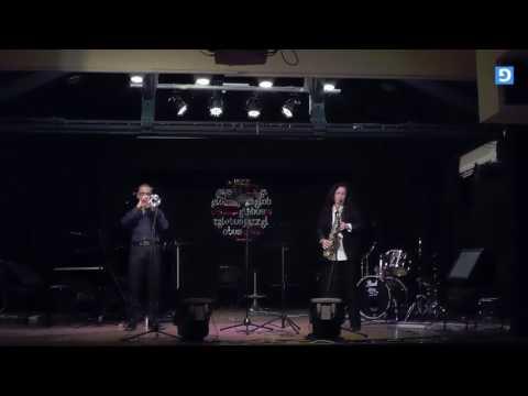 中音薩克斯和小號二重唱 - 耶路撒冷的爵士樂! (生活)