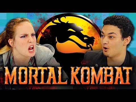 MORTAL KOMBAT (SEGA GENESIS) (Teens React: Retro Gaming)