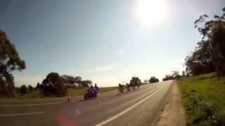 Buninyong Australia  city photos : Fabian Cancellara Pre worlds warm up Buninyong Australia