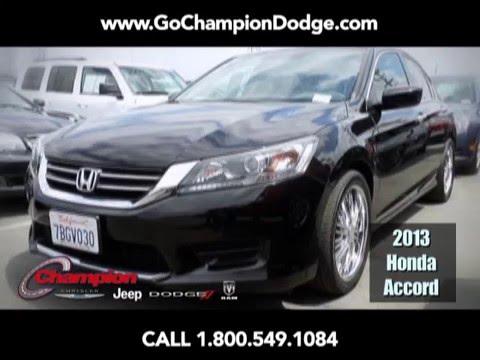 USED 2013 Honda Accord for Sale - Los Angeles, Cerritos, Downey, Huntington Beach CA - PREOWNED SEDAN - Deal
