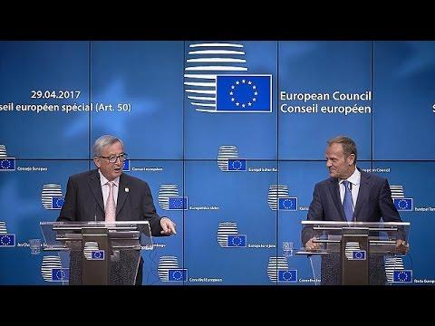 Ενότητα από τους 27 της ΕΕ στη διάρκεια των διαπραγματεύσεων για το Brexit