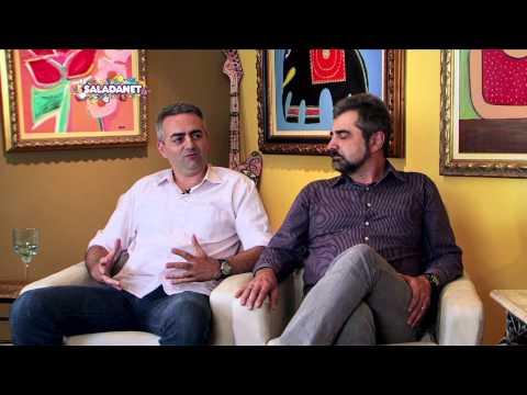 Maura Roth entrevista o diretor e roteirista André Marouço e o ator Maurycio Madruga