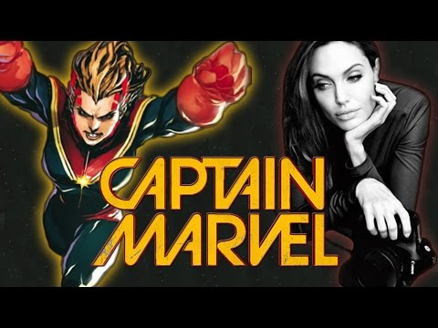 Angelina Jolie Directing The CAPTAIN MARVEL Film? – AMC Movie News