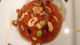 Wheat Halwa Or Godhumai Halwa