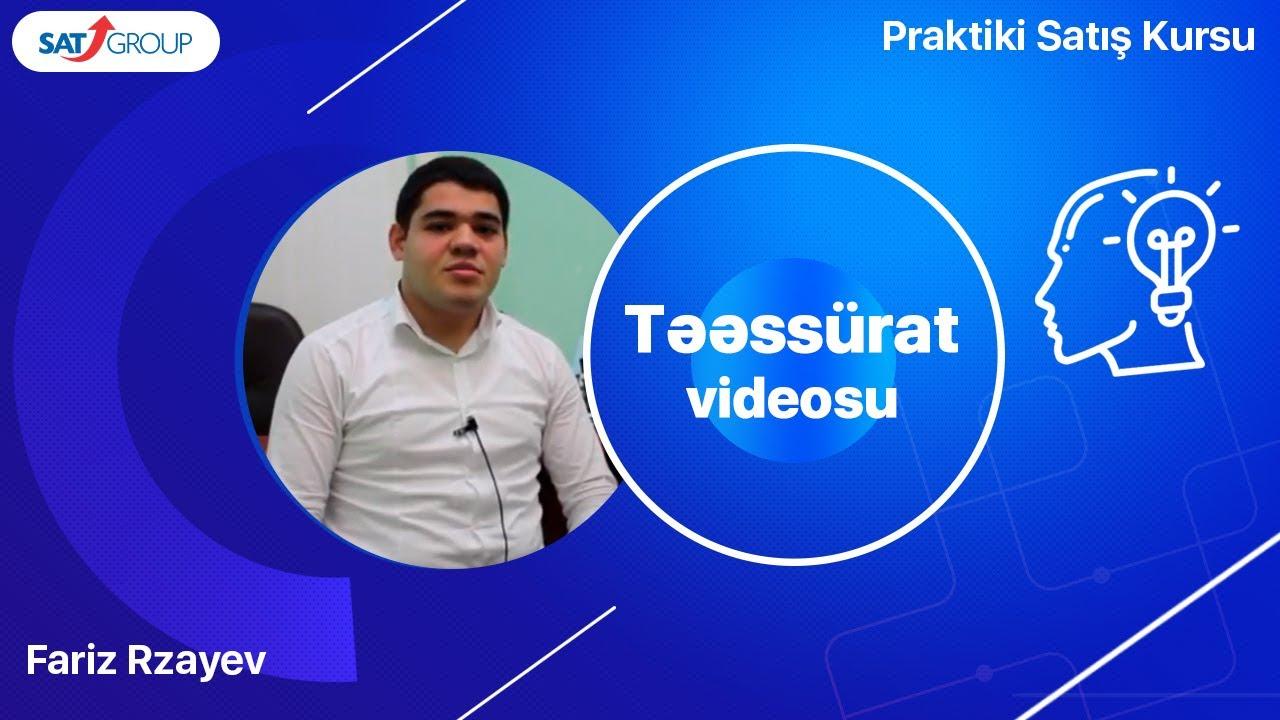 Satış Təlimləri – təəssüratlar. Fariz Rzayev (TEPE şirkəti)