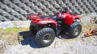 4. 2008 YAMAHA BIG BEAR 400 IRS 5-Speed 4X2 ATV + WARN WINCH - LEXINGTON, KY