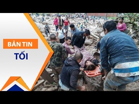 Colombia: Lở đất kinh hoàng, 254 người thiệt mạng | VTC - Thời lượng: 78 giây.