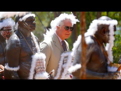 Australien: Prinz Charles von Ureinwohnern empfangen