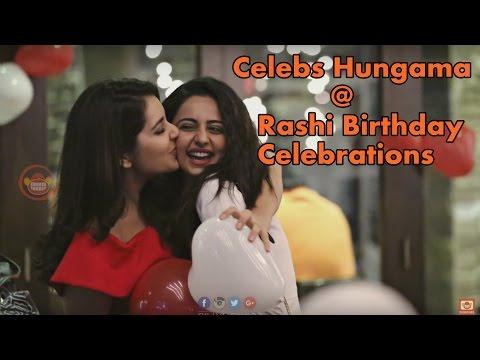 Celebs at Rashi Kanna Birthday Celebrations