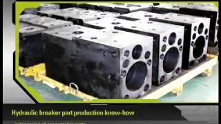 video thumbnail Korean Hydraulic Breaker DW T100 youtube