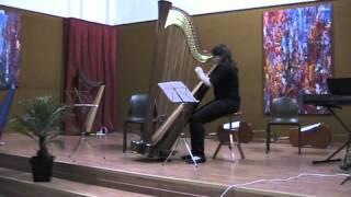 Scuola di Musica Antica di Venezia Saggi finali 2012 Bernard Andrès, Contes vagues Laleh Mozafari, arpa.