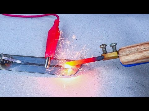 How To Make Simple Welding Machine With 12V Battery