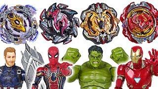 Video Beyblade super zetsu B-110, 113, 115, 117 appeared! Marvel Avengers Hulk vs Thanos - DuDuPopTOY MP3, 3GP, MP4, WEBM, AVI, FLV Juli 2018