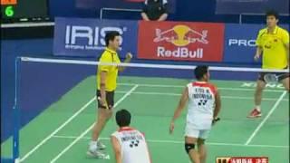 Video [Thomas CUP 2010 FINAL] Markis Kido/Hendra Setiawan vs Cai yun/Fu hai feng 2/12 MP3, 3GP, MP4, WEBM, AVI, FLV Mei 2018