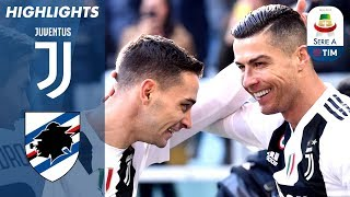 Video Juventus 2-1 Sampdoria | Ronaldo Double as Unbeaten Run Continues! | Serie A MP3, 3GP, MP4, WEBM, AVI, FLV April 2019
