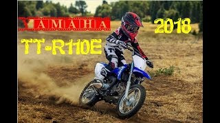 3. NEW 2018 Yamaha TT R110E Specifications