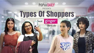 Video Types Of Shoppers - POPxo Daily MP3, 3GP, MP4, WEBM, AVI, FLV Maret 2019