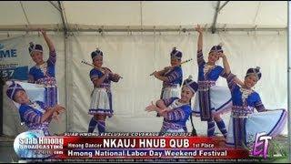 Suab Hmong News: Hmong Dancer Group 'NKAUJ HMOOB HNUB QUB' won 1st place 9/2/2012