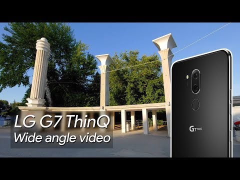 LG G7 ThinQ Wide angle video