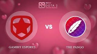 Gambit Esports vs The Pango - RU @Map3 | Dota 2 Valentine Madness | WePlay!
