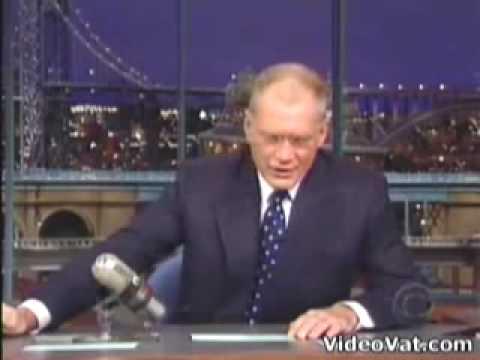 David Letterman Top Ten George Bush Moments