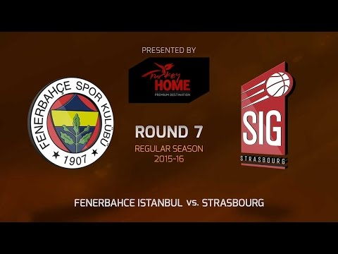 Highlights: RS Round 7, Fenerbahce Istanbul 81-64 Strasbourg
