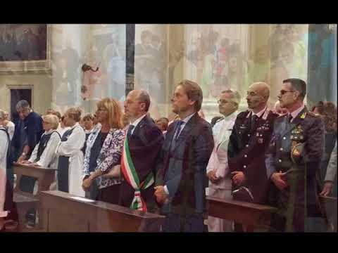 IERI FESTA DI SAN MAURIZIO E COMPAGNI MARTIRI CON PROCESSIONE