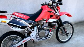 10. XR650R dual sport plated