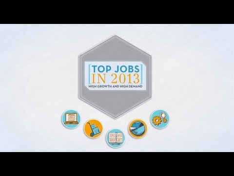 careers - Learn about all of the top jobs of 2013: http://www.careerbuilder.com/topjobs2013 Start your job search today: http://cb.com/17E4EHE If you want to know more...