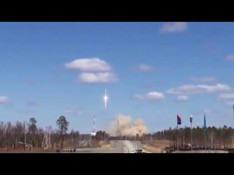 Выведена на орбиту первая в истории нового космодрома Восточный ракета-носитель