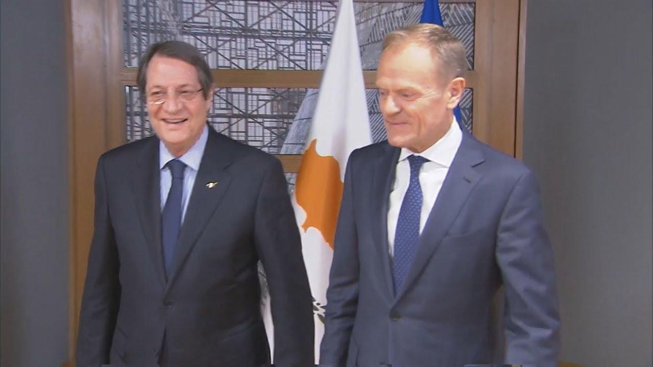 Συνάντηση του Donald Tusk με Ν. Αναστασιάδη