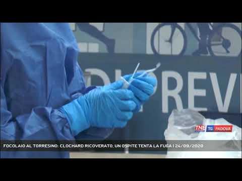 FOCOLAIO AL TORRESINO: CLOCHARD RICOVERATO, UN OSPITE TENTA LA FUGA | 24/09/2020