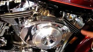10. 2000 Harley-Davidson Road King FLHRI Luxury Rich Red & Black