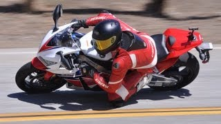 6. 2013 HONDA CBR1000RR - DISCUSSING SUSPENSION SETUP WITH ANDY PALMER FROM AP MOTO-ARTS