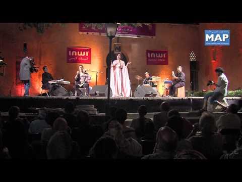 كريمة الصقلي تحيي حفلاً في إطار المهرجان الدولي للفنون والثقافة صيف الأوداية
