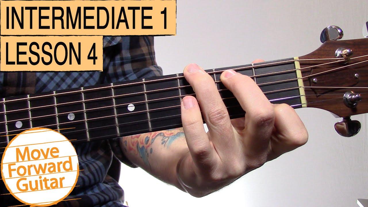 Intermediate Guitar 1 – G7, D7, G5, Cadd9, Em7 Chords