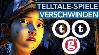 Warum verschwinden Telltale-Spiele jetzt schon von Steam?