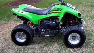 8. Kawasaki KFX 700