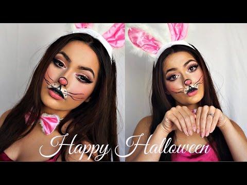 Cute Bunny Makeup Tutorial | Halloween