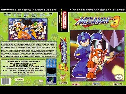 Megaman 3 NES Gameplay Walkthroughs No Death (Полное прохождение) (ULTRA HD - 4K)