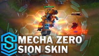 LMHT: Chi tiết bộ trang phục Sion Người Máy Biến Hình (Mecha Zero Sion)