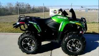1. Review: 2013 Arctic Cat MudPro 700 Limited EPS in Arctic Green Metallic