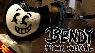 Stop motion studio tours are a dirty job, but someBendy's gotta do it!BUY THE SONG ➤  https://itunes.apple.com/us/album/bendy-and-the-ink-musical-feat-matpat/id1264648466?i=1264648717&app=itunesBEHIND THE SCENES ➤ Coming Soon!===GET RANDOM ENCOUNTERS GEAR!https://teespring.com/stores/random-encounters===LYRICS:Come, get a look!It's nothing like you've seen!It's my trendy new BendyInk Machine!So amazing it's crazy!Believe me, it's true!Allow me to showWhat my Ink Machine can do!Come take a peek,Cause nothing else compares!There's no fee, so feel freeTo stop and stare!From the spout to the sprocketsAnd the bits in between,I'm in love with my ink machine!Such simple work,It's practically obsceneThat I'd choose not to useMy Ink Machine!Twice the speed, half the work,in a third of the time!Convenience so genius,It ought to be a crime!Waste's at a low,Efficiency is high!Every load's up to codeAnd certified!Sure, there's kinks, quirks, and hiccups,But they're far-flung between!Nonetheless, I still think theBest of my Ink Machine!How could one resist thisPerfectly pristineEco-friendly,Patent-pendingBendy Ink Machine!Here's to my newInk-credible machine!Overclocked! Fully stocked!And squeaky clean!No device is as safe,Nor as sleek in design!No chap's apparatushas half the class of mine!See top-end techAnd luxury combined!It's indeed guaranteedTo blow your mind!It can speak for itself,If you know what I mean!It's my praised and reputed--ink not included--exclusive Ink Machine!