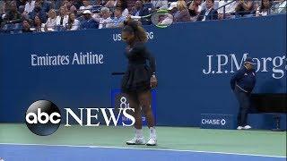 Shocking US Open final as Serena Williams loses, breaks her racket