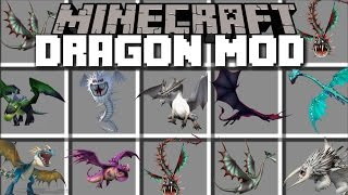 Video Minecraft DRAGON MOD / PLAY WITH DRAGONS AND RIDE THEM WITH FIREBALLS!! Minecraft MP3, 3GP, MP4, WEBM, AVI, FLV Juni 2018