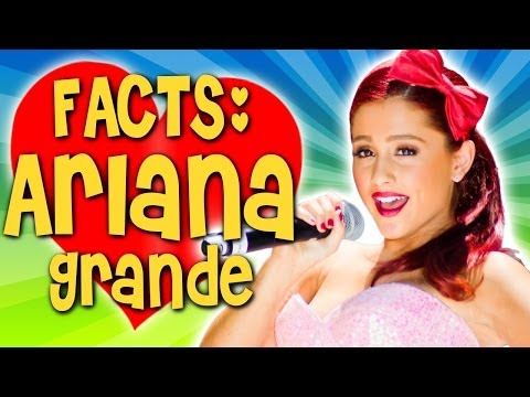 ARIANA GRANDE Facts Video & Quiz - How Much Do YOU Know About Ariana? видео