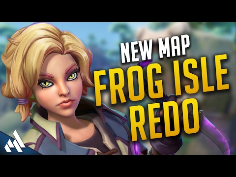 Paladins New Map Frog Isle Redo | Paladins Gameplay (видео)