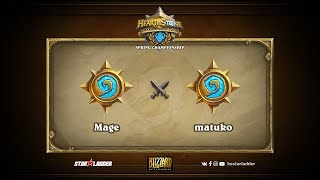 matuko vs Mage, game 1